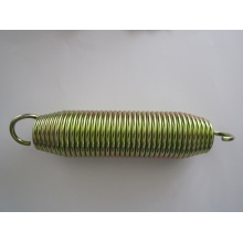 Tension Springs with Yellow Zinc Plating