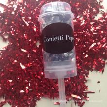 Подгонянный конфетти партии Поппер леденец на праздник Девичник Одолжения свадьбы