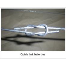 Galvanized Quick Link Bale Ties