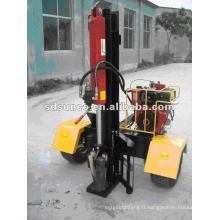 Séparateur de bûches diesel vertical ou horizontal