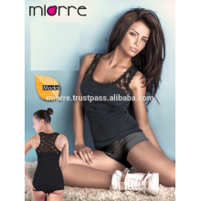 MIORRE WOMEN MODAL TANK TOP WITH LACE
