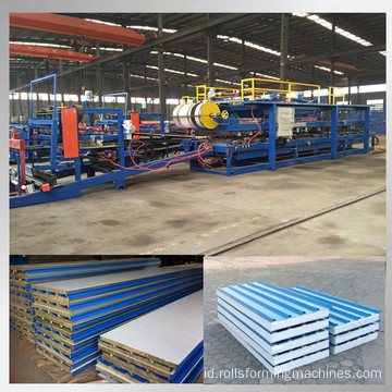 atap dinding sandwich panel mesin roll forming