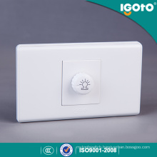 Fashion Type PC Material Dimmer Switch