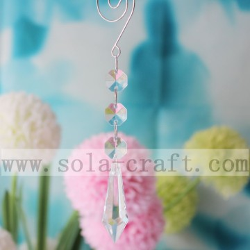 16CM Chandelier Diamond Prisms Crafts Drops Icicles Beads