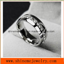 Fashion Stainless Steel Titanium Finger Ring Jewelry