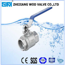 Two Piece Ball Valve Without Locking Design