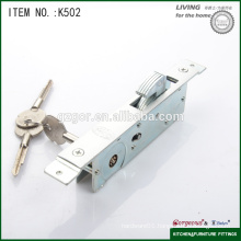 high quality Gorgeous lock with hook/cross key for glass sliding door