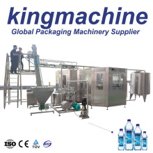 Automatic Complete Pet Bottled Pure Mineral Water Bottling Filling Production Machine Line Equipment