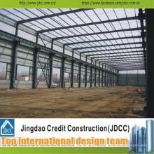 Производство и Assembing Пакгауза prefab стальной структуры Jdcc1037