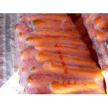 freeze fresh carrots