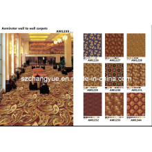 Axminster Wool Wall to Wall Alfombras para hoteles Fire Proof