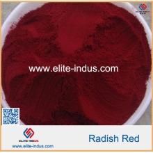 100% puro natural vermelho rabanete cor Gardenia vermelho pigmento