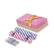6PCS/Lot Super Moist Big Candy Packaging Pleasure Condones with Lot Lubricant Condom Set