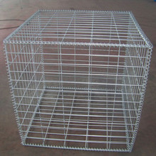 Durable Hot Dipped Galvaniserad Gabion Wire Mesh Box