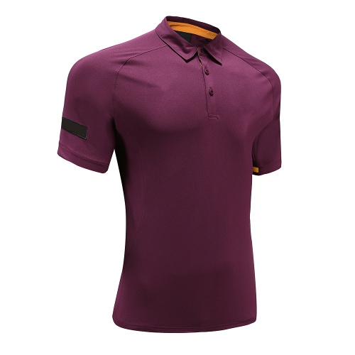 Polo Rugby Wear Homme Violet Coupe Sec