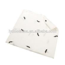 47 * 47 polegadas algodão bebê cobertor swaddle bebê musselina envolve