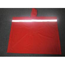 Yj-6072 PVC wasserdicht reflektierende wiederverwendbare Regen Ponchos Regenmantel