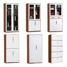 Factory directly glass door steel office filing storage cabinet