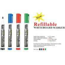 Pluma marcador de tinta blanca recargable
