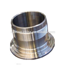 cnc machining stainless steel pipe/fittings