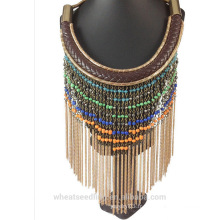 2016 accessoires pour femme collier en cuir