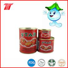 Звезда абсолютно здоровы 400г консервированной томатной пасты с низкой ценой