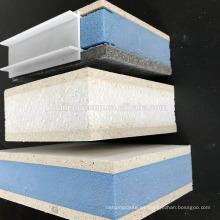 Tablero de MgO del óxido de magnesio clasificado del fuego EPS / XPS SIP para la pared exterior