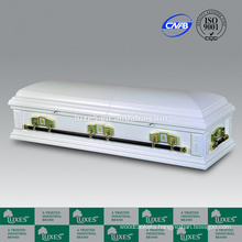LUXES Wholesale Caskets Catolicism American Style Wood Coffin Beds