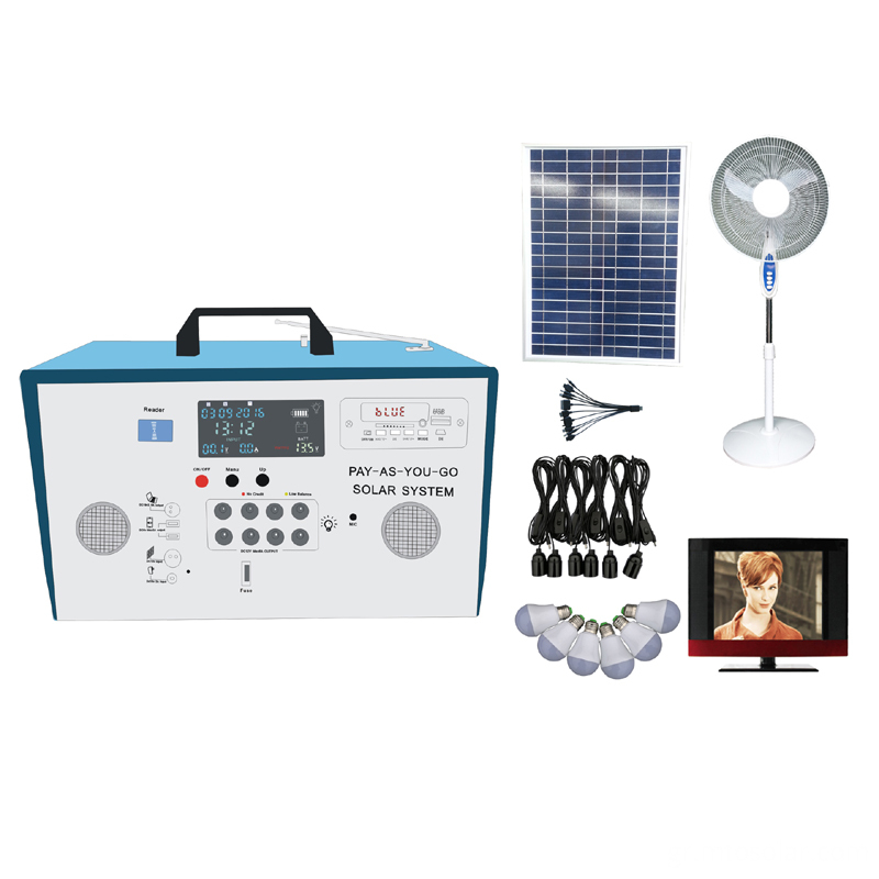 Pay As you Go solar home system