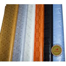 Feitex Promotion damas shadda bazin riche guinée brocart tissu 100% coton pas cher tissu africain