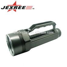 Buceo hasta 100M gris-negro 3500LM 4xCREE XML2 T6 portátil 4 núcleos de aleación de aluminio LED buceo de luz