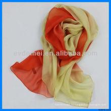 Корейский шелковый шарф Lady Fashion