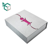 Sliver Bright Starry Pink Shiny Gift Paper Box
