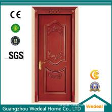 Внутренняя дверь Гуанчжоу с деревом и стеклом для гостиниц и домов
