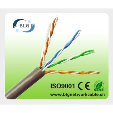 BLG Cable UTP Cat5e de la fábrica 4pr 24AWG