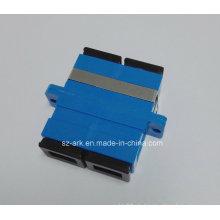 Sc Duplex Standard Faseroptische Adapter F