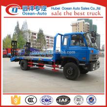 Dongfeng 4 * 2 dimensões do caminhão de plataforma, caminhão de plataforma plana 1-10T à venda