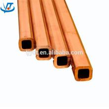 rectangular copper pipe, square copper tube TP2 material