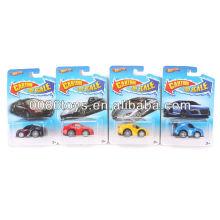 6cm with blister card cartoon diecast car