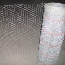 Rede de arame de estuque galvanizado hexagonal 20GA popular nos EUA