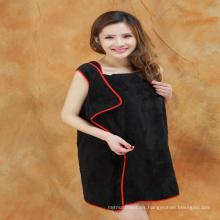 vestido de toalla de algodón al por mayor Alibaba expreso de china al por mayor barato Para usar mujeres toalla de baño vestido