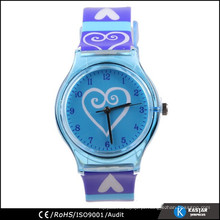 Relógio de quartzo mais vendido, relógio de criança de plástico