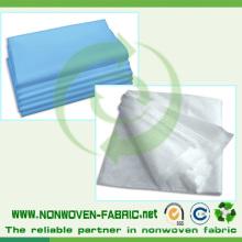 Material não tecido descartável do Bedsheet médico