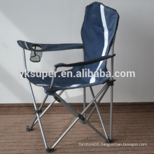 Folding personalized camping chair with novelty design