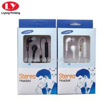 Caixa de papel para fone de ouvido