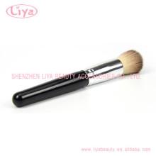 China Supply Single Makeup Brushes White Ferrule