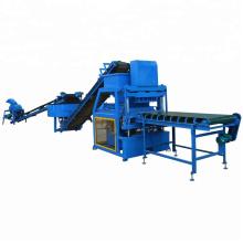FL4-10 4 pcs / moule automatique compressé sol terre emboîtement brique bloc machine prix