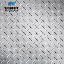 Ромбовидный узор тисненый лист 1050 1100 3003 алюминиевая плита контролера