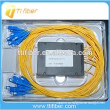 Tipo de Caja ABS 2x16 Fibra Óptica PLC Splitter
