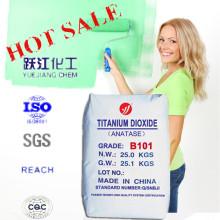Hot Sale Titanium Dioxide Anatse B101 Matt Alkyd Resin Paint